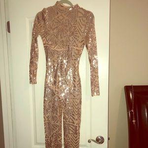 Dresses & Skirts - Sequins Jumpsuit